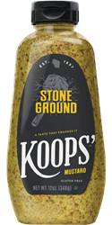 Koops' Stone Ground Mustard, 12 oz. Bottle